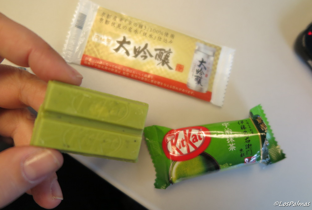 kit kat té verde kyoto japon japan