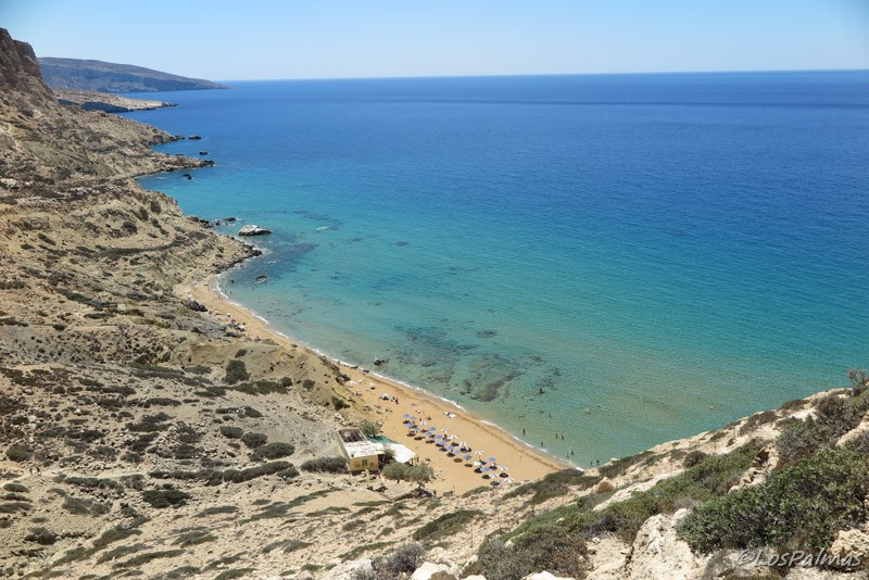 red_beach_Creta_grecia_crete_greece_matala