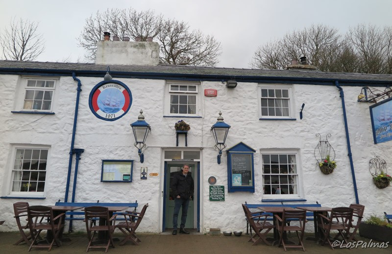 el pub Ship Inn en Red Wharf Bay Anglesey Gales